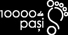 10 000 de pasi Logo